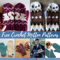 20+ Free Crochet Mitten Patterns