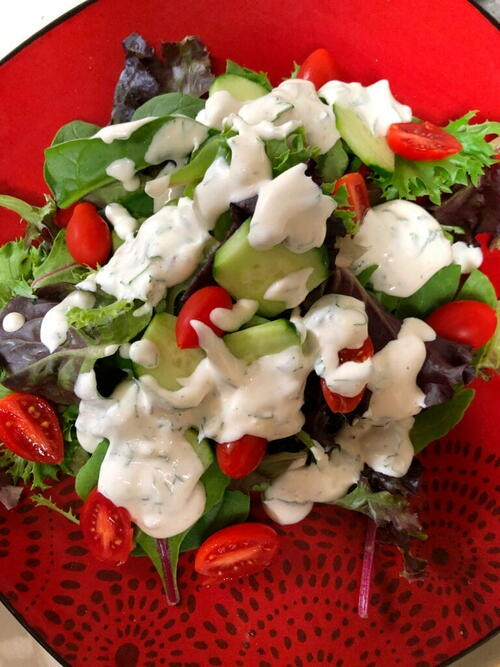 Restaurant Style Ranch Dressing