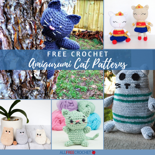 15 Free Crochet Amigurumi Cat Patterns