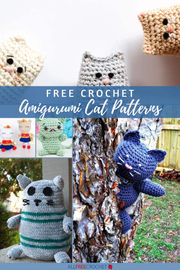 amigurumi crochet free cat patterns pinterest