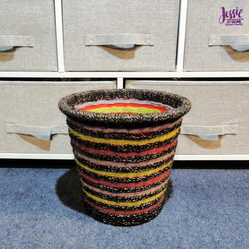 Diy Decorative Waste Basket Tutorial