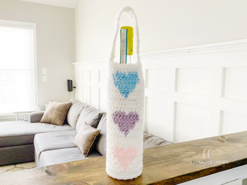 Heart Wine Bottle Bag