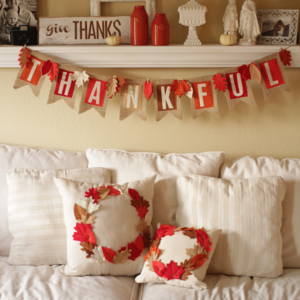3-in-1 Thanksgiving Decorating Ideas