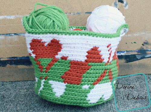 Shamrocks Basket