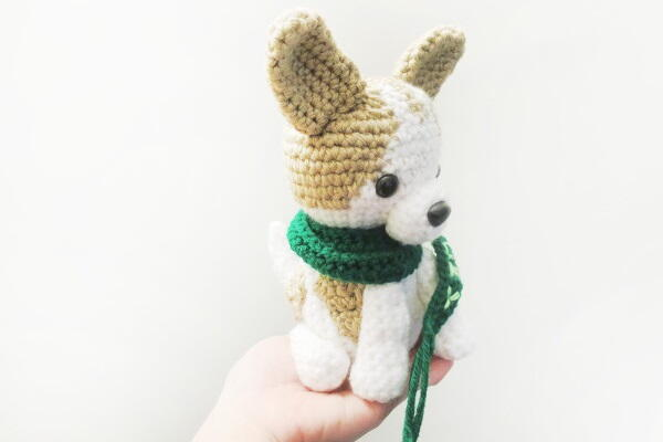 'Lucky', the Chihuahua Dog Amigurumi