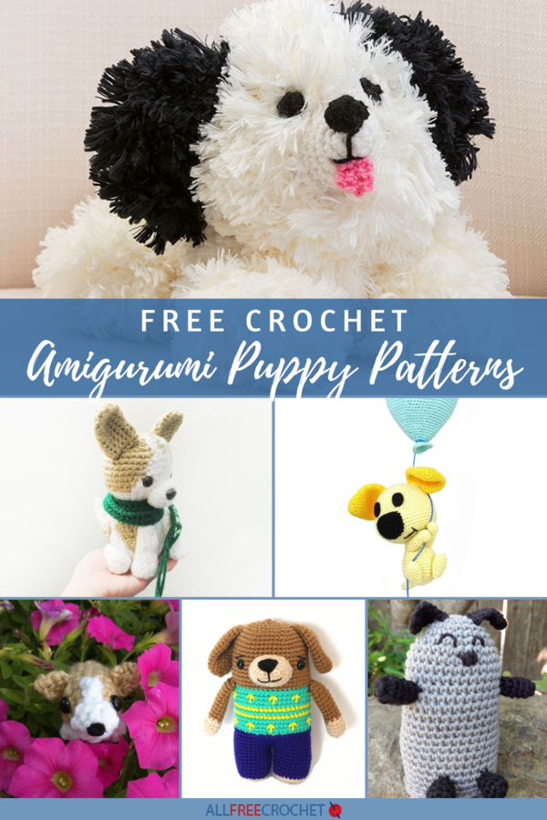 15+ Free Amigurumi Puppy Crochet Patterns