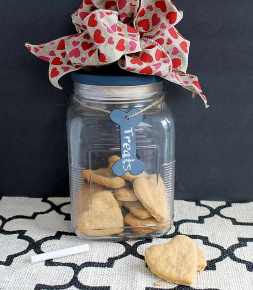 Homemade Dog Treat Gift Idea