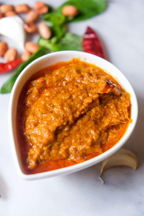 Peanut Sauce For Chicken Satay