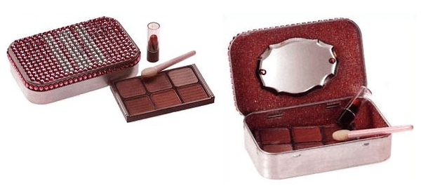 Jeweled Makeup Compact