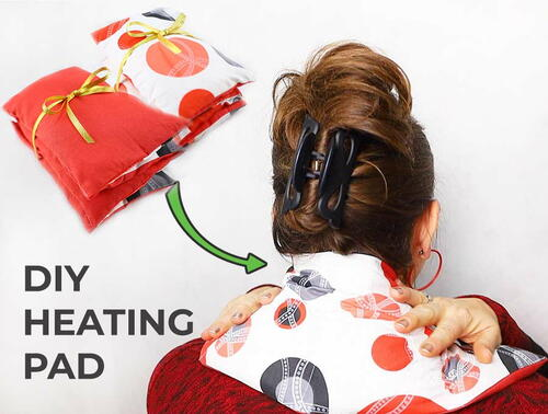 Heat Pad To Soothe Neck Pain