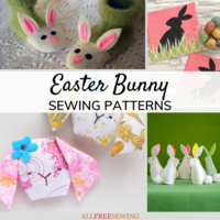 35+ Easter Bunny Sewing Patterns