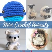 61 Mini Crochet Animals [Free Patterns]