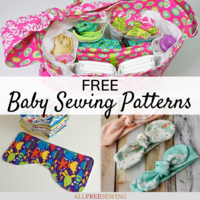 75+ Free Baby Sewing Patterns You'll Adore