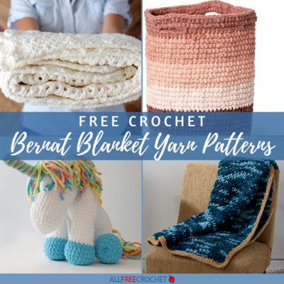25 Bernat Blanket Yarn Patterns