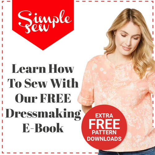 FREE Dressmaking eBook Plus 3 BONUS Pattern Downloads