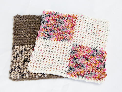 Four Square Dishcloth