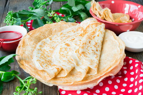 Easy Eggless Crepes