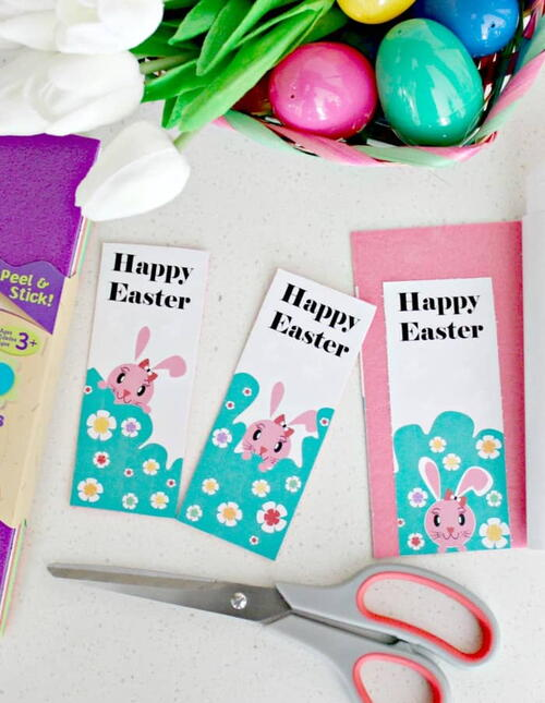 Easter Felt Bookmark