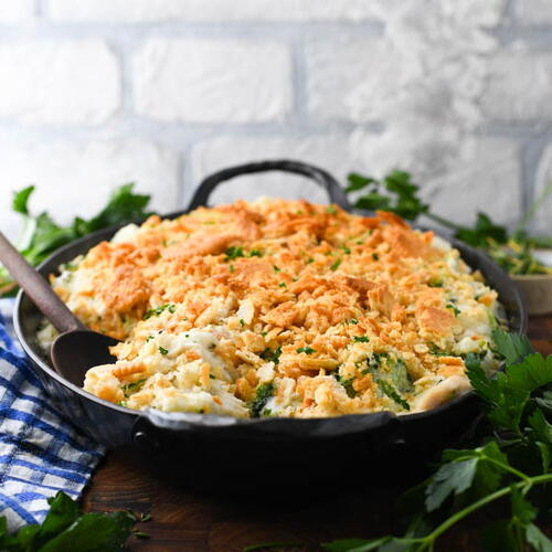 Cheesy Chicken And Broccoli Casserole With Rice