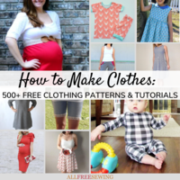 How to Make Clothes: 500+ Tutorials for Making Your Own Clothes