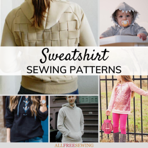 DIY Sweatshirt Ideas: 36 Sweatshirt Patterns