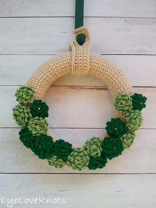 St Patrick's Day Inspired Endless Summer Wreath