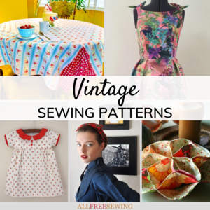 45+ Free Vintage Sewing Patterns