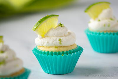 Key Lime Mini Cupcakes - Small Batch