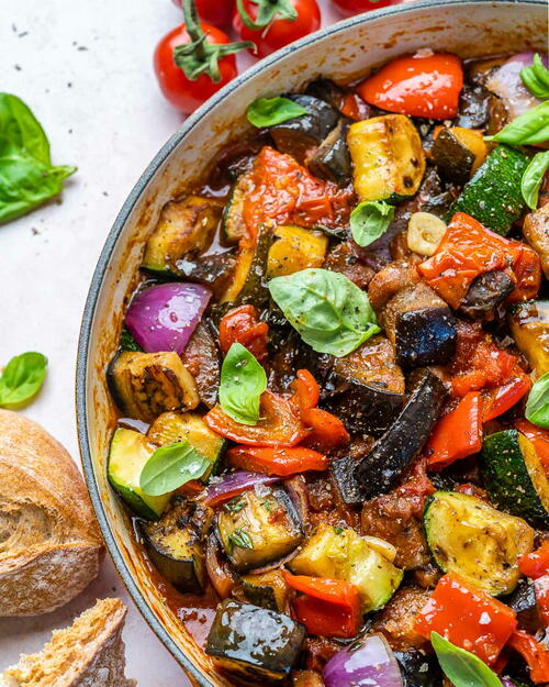 Easy Ratatouille Recipe – How To Make Ratatouille