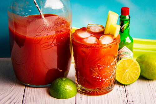 An Easy Bbq Bloody Mary Cocktail
