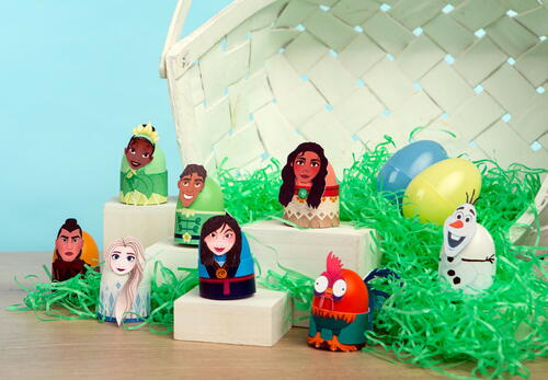 Disney Princess And Friends Easter Eggs