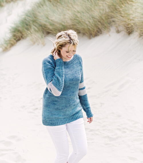 Meridian Striped Pullover