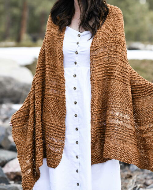 Cosmos Textured Wrap Pattern