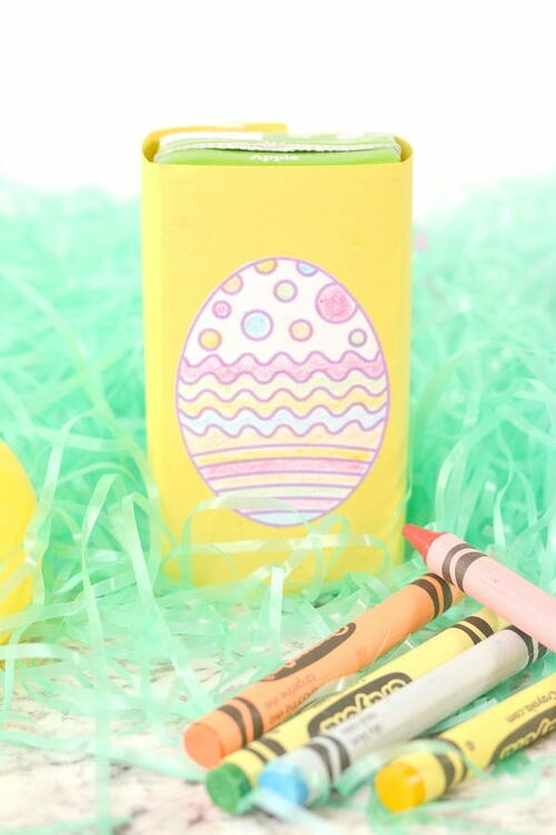 Easter Egg Juice Box