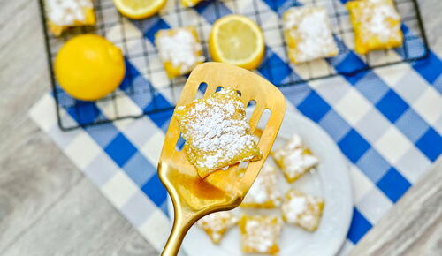 Easy 3 Ingredient Lemon Bars