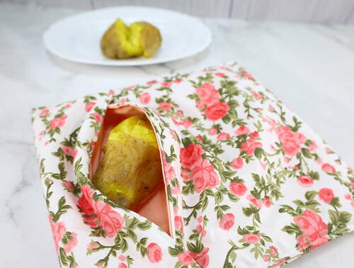 Microwave Baked Potato Pouch Diy