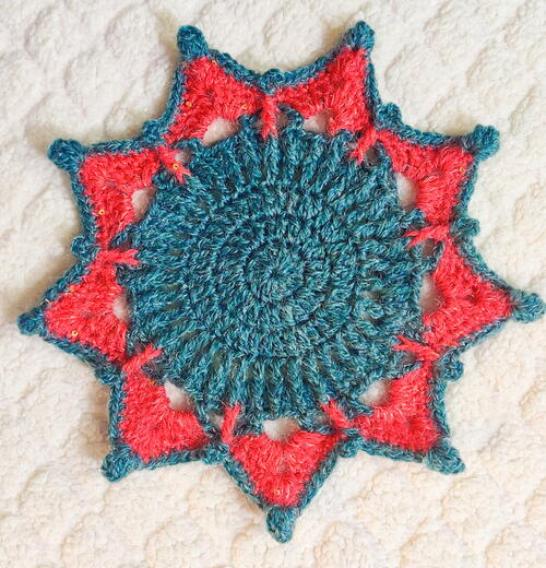 Star Doily Placemat