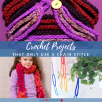 12 Crochet Projects That Only Use a Chain Stitch