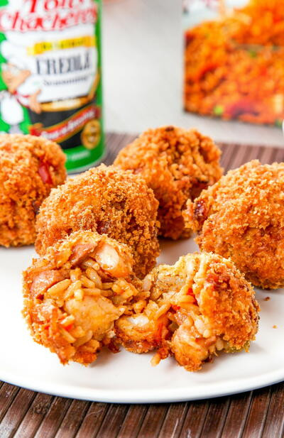 Deep Fried Jambalaya