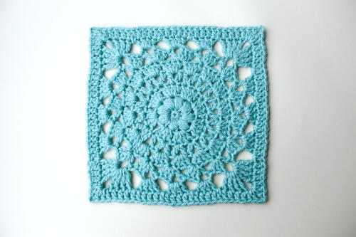 Circle Of Friends Crochet Square