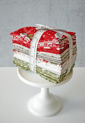 Christmas Morning Fabric Bundle Giveaway