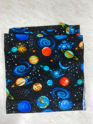 Solar System Fabric Giveaway