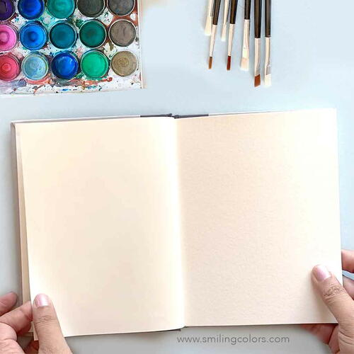 Diy Watercolor Sketchbook