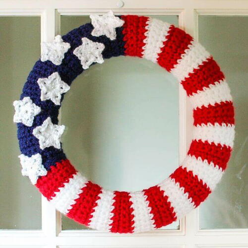 All-American Wreath