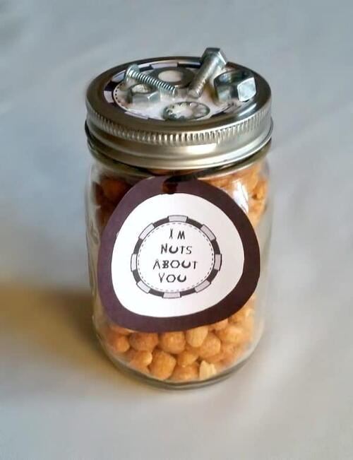 Diy Father's Day Gift – I'm Nuts About You