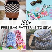 150+ Free Bag Patterns to Sew (Ultimate List)