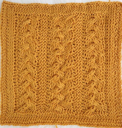 Braided Cables Square