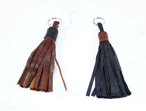 Make A Gorgeous Leather Tassel