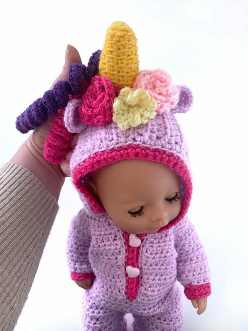 Unicorn Baby Dolls Onesie