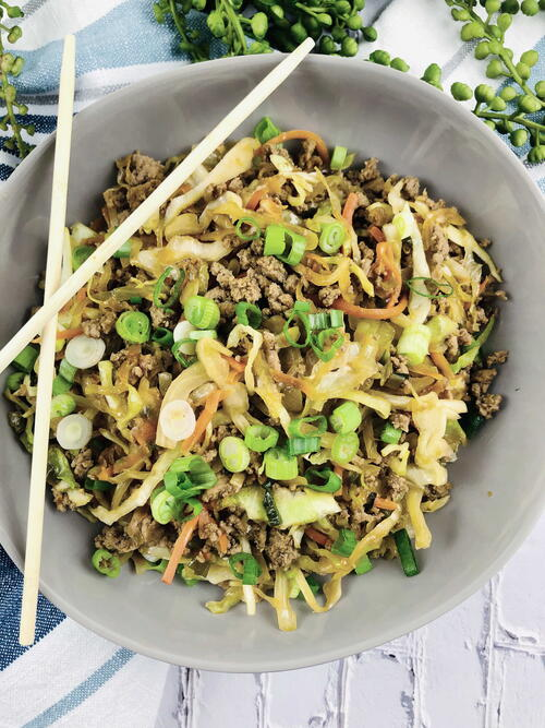 Ww Egg Roll In A Bowl Recipe